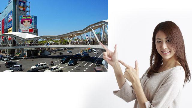 天王寺駅前あべの歩道橋